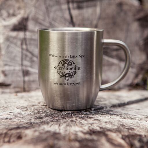 Stainless Steel Mugs from Sucreabeille