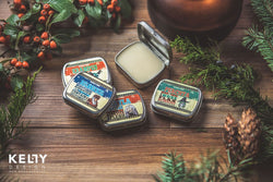 Gift box of Five Yule Solid Perfumes