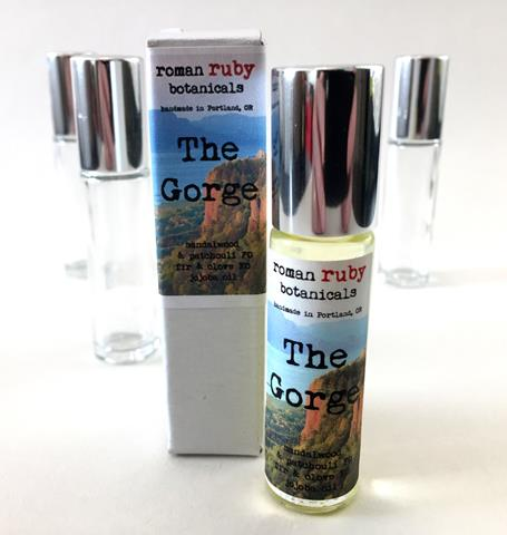 The Gorge perfume oil from Roman Ruby Botanicals
