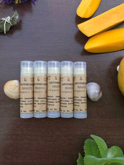 Mango Organic lip balm by Mint and Ocean