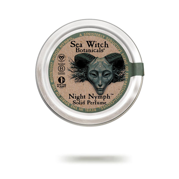 Night Nymph solid perfume from Sea Witch Botanicals