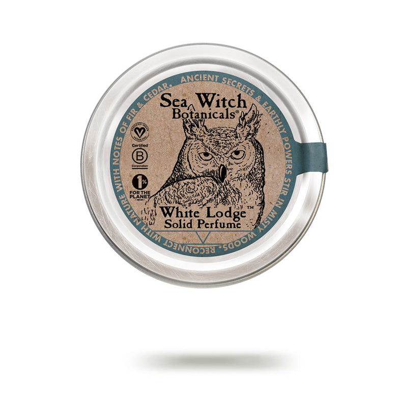 White Lodge solid perfume from Sea Witch Botanicals