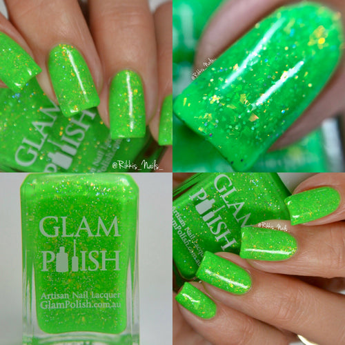 All Of That Chit-Chat's Gonna Get Ya Hurt - Glam Polish Fans Facebook Group Exclusive
