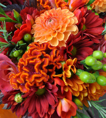 Designer's Choice Autumn Vase