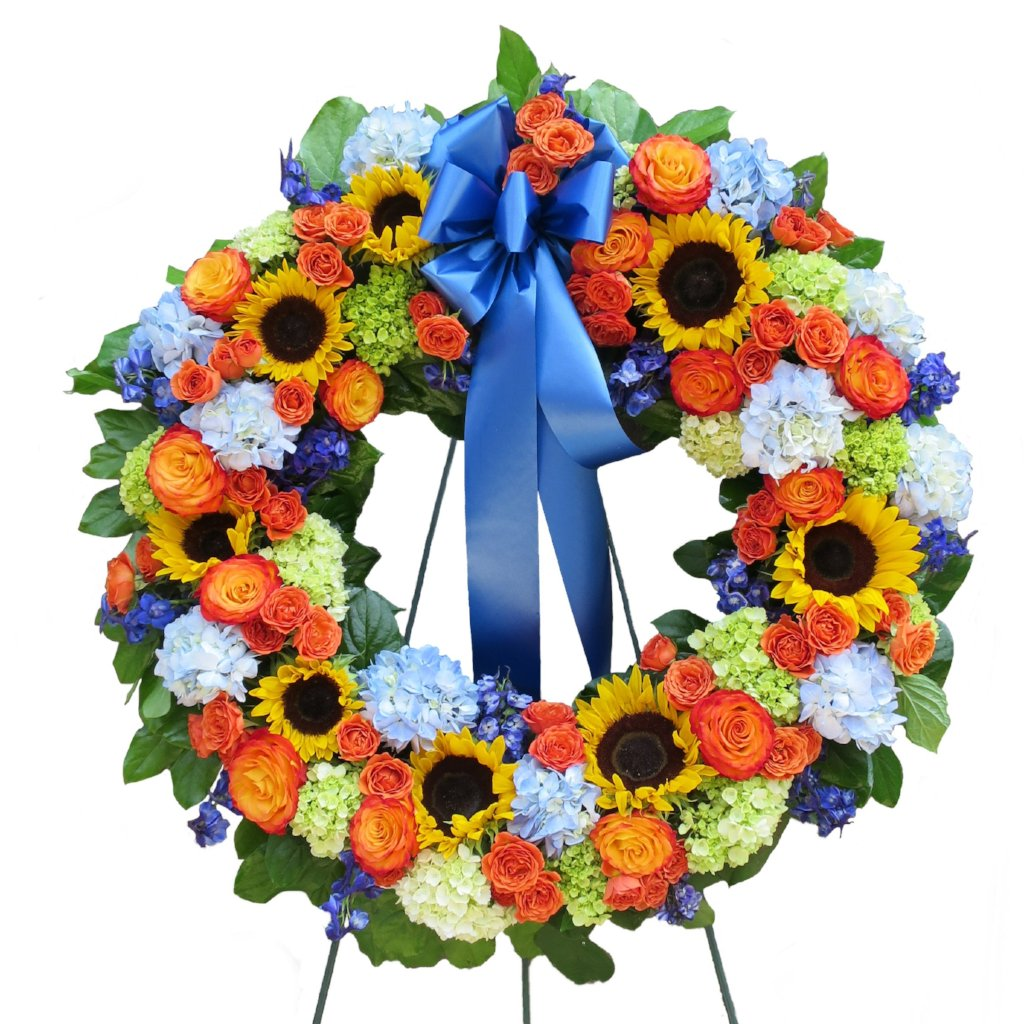 Bright Blessings Wreath