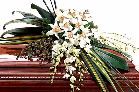 Casket Cover with Exotic Look