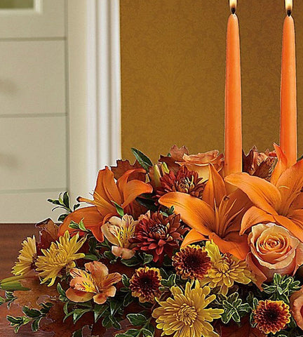 Designer's Choice Candle Centerpiece