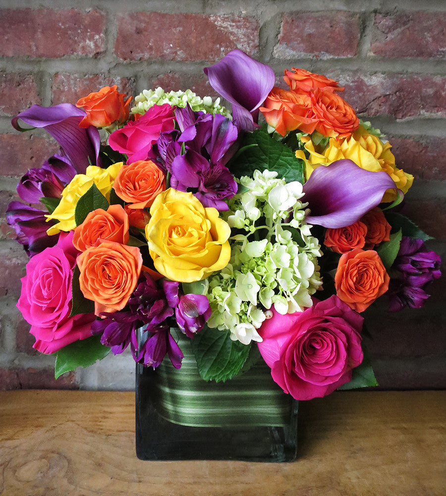 Square vase arrangements georgewood florist blossoms in vouge reviewsmspy