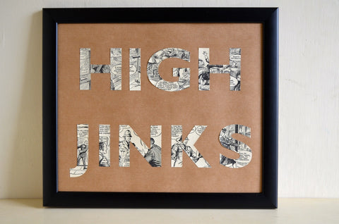 High Jinks cut from vintage annual