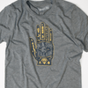 Tarot Card psychic Nashvillain hand shirt design