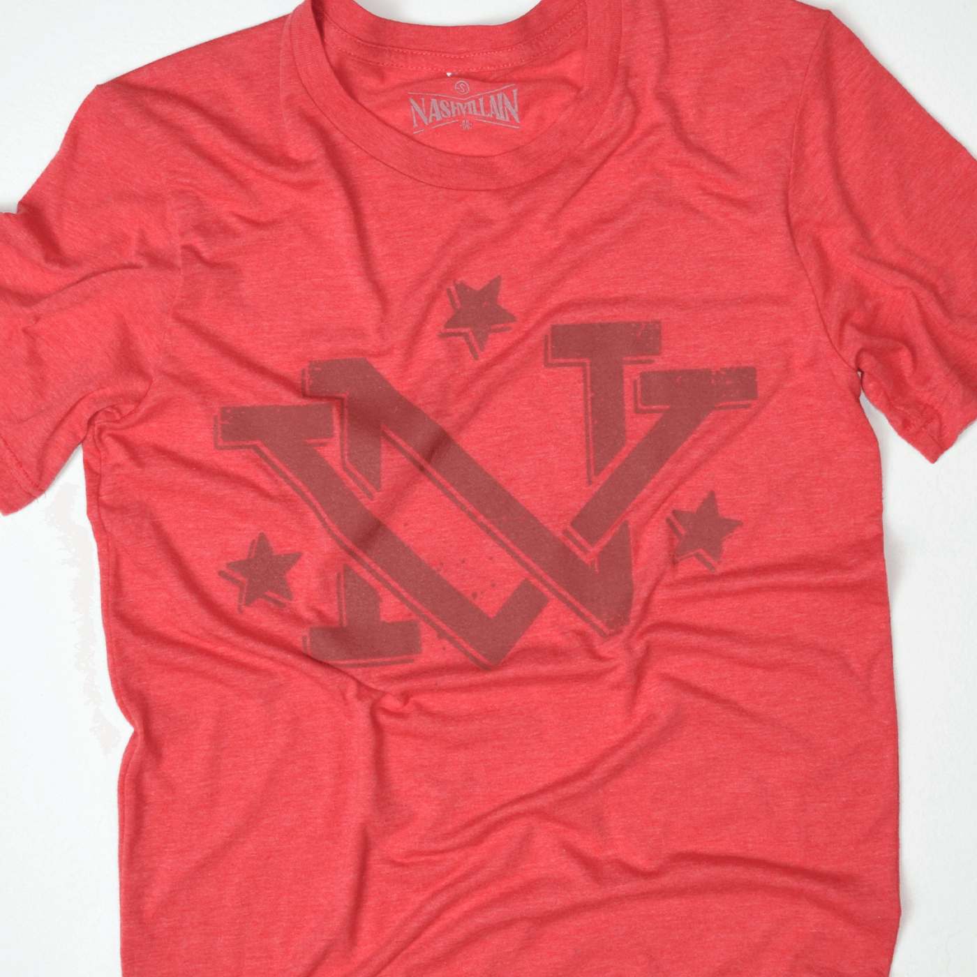 Red NV tennessee tristar shirt design