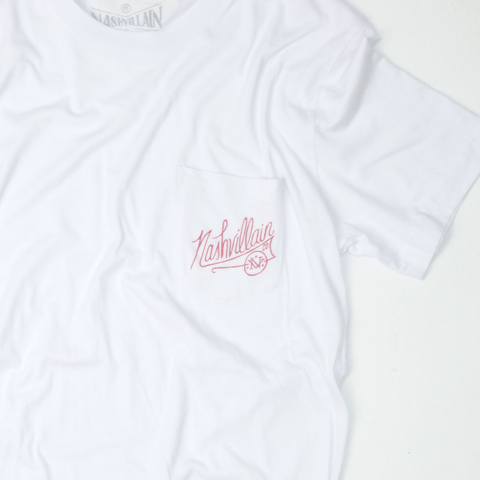 Villains script - White - Pocket T