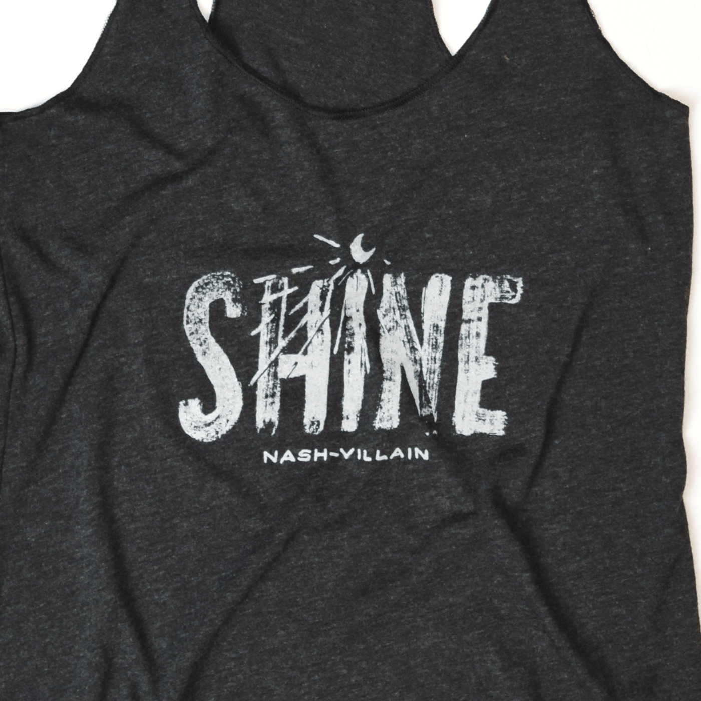 Moon shine nash-villain black tank design