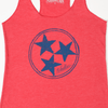 Inverse Tennesse Tristar Shirt design for women