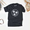 Inverse Tennesse Tristar Shirt design for a black unisex tee at Nashvillain Co