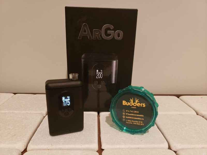 Arizer ARGO Review - Budders Cannabis
