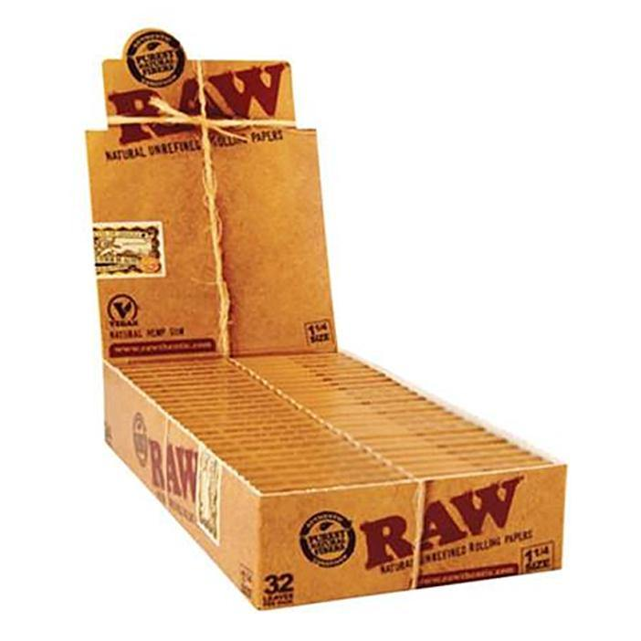 RAW CLASSIC 1 1/4 - Box of 24 Packs - Papers - budders-cannabis - Budders Cannabis