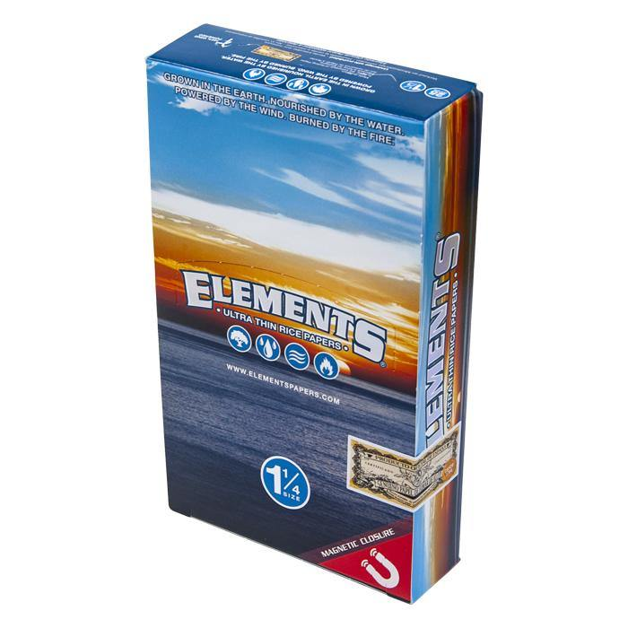Elements Rolling Papers 1.25 Magnet - Box of 24 Packs - Papers - budders-cannabis - Budders Cannabis