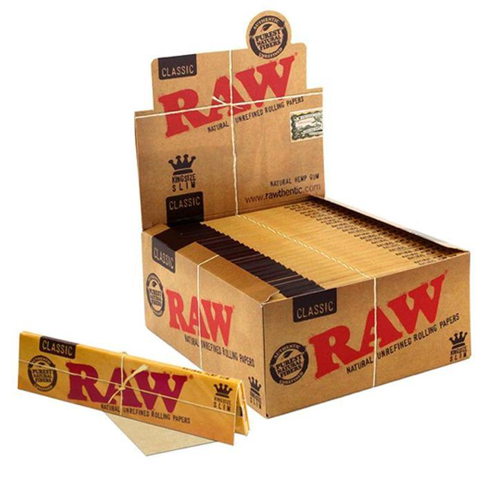 Raw Classic King Size - Box of 50 packs - Papers - budders-cannabis - Budders Cannabis