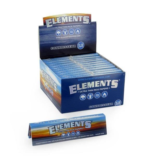 Elements Rolling Papers King Size - Box of 50 Packs - Papers - budders-cannabis - Budders Cannabis