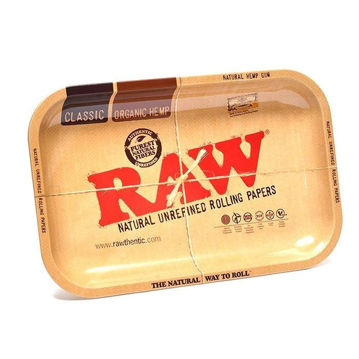 Raw Rolling Tray Small - TRY - budders-cannabis - Budders Cannabis