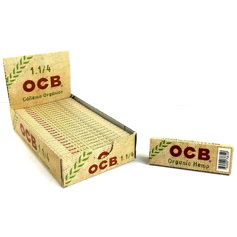 OCB ORGANIC HEMP ROLLING PAPERS 1.25 - Papers - budders-cannabis - Budders Cannabis