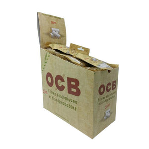 OCB Organic Slim Filters - Box of 50 Packs - Papers - budders-cannabis - Budders Cannabis
