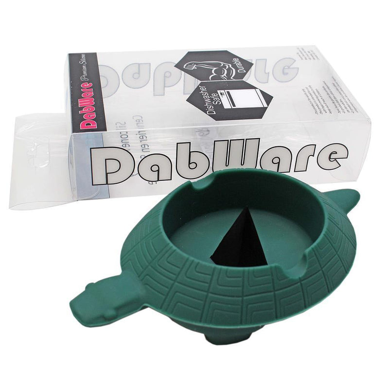 "Ashtray - Silicone - DabWare 5"" Turtle - Budders Cannabis"