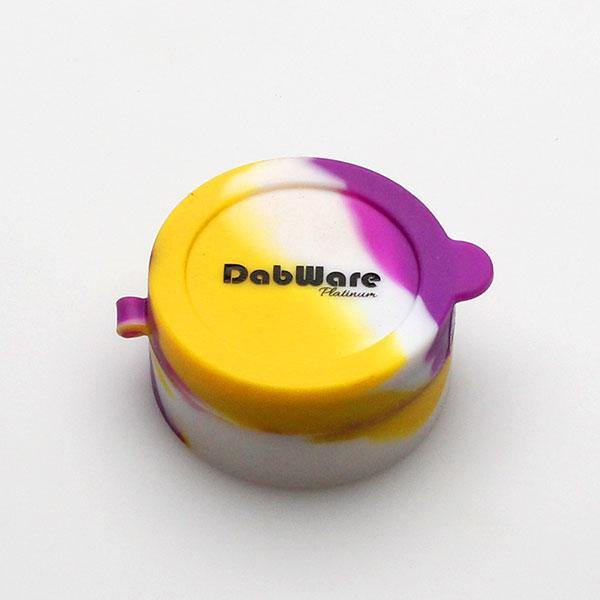 DabWare Platinum Flip Top 10ml Silicone Container
