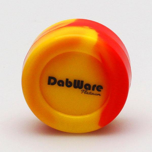 DabWare Platinum Large 7ml Silicone Container - Budders Cannabis