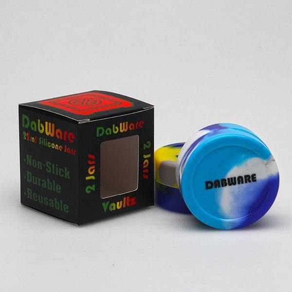 DabWare XL 22ml Silicone Container 2 Pack