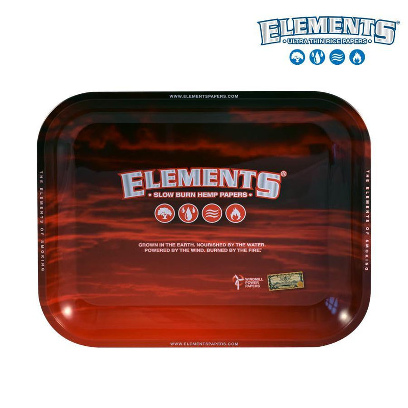 Elements Red Roll Tray Large