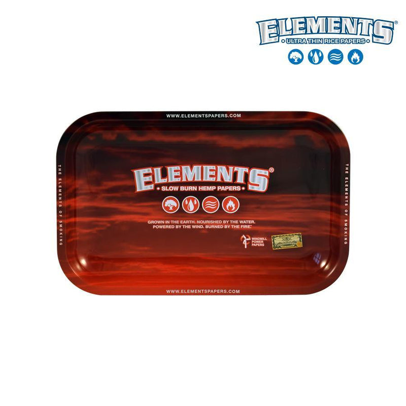 Elements Red Roll Tray Small