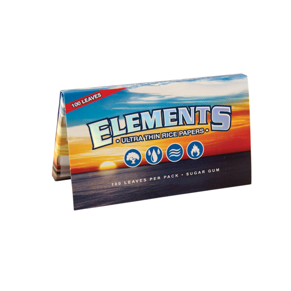 Elements Single Wide - Box of 25 Packs - Papers - budders-cannabis - Budders Cannabis