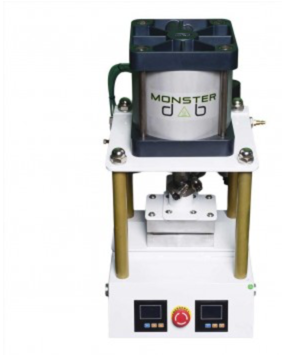 "Monster Dab - 4"" x 6"" Rosin Press 5 Ton"