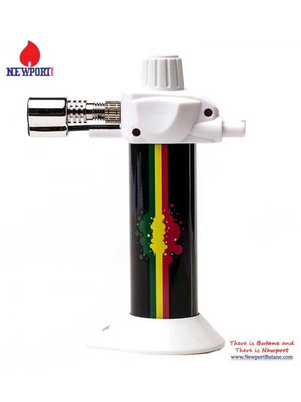 "NEWPORT ZERO MINI TORCH 5.5"" RASTA WHITE"