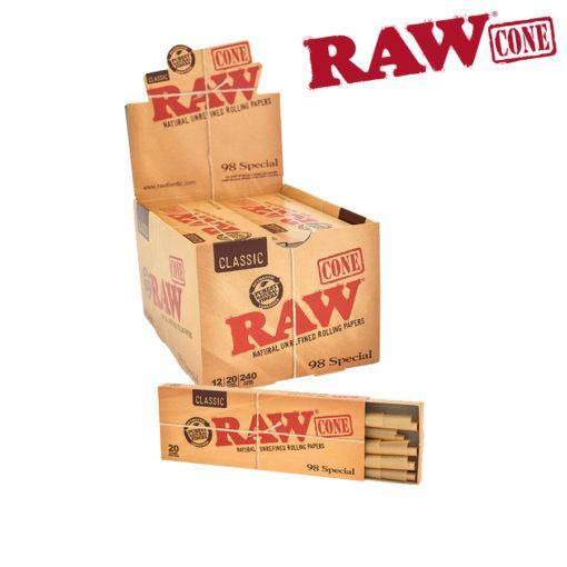 Raw Cones 98 Special 20PK Box/12