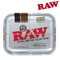 Raw Steel Rolling Tray Large