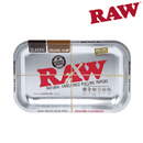 Raw Steel Rolling Tray Small