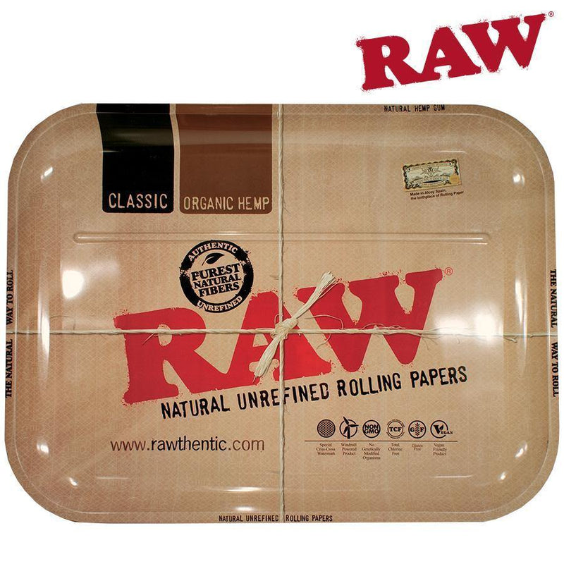 Rolling Tray RAW Metal XXL