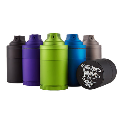 Santa Cruz Shredder Vogue Spray Grinder - GR - budders-cannabis - Santa Cruz