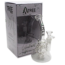 "Load image into Gallery viewer, Tree Glass 10"" Perked Fabrige Beaker Bubbler"