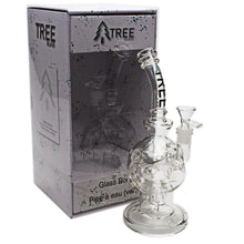 "Load image into Gallery viewer, Tree Glass 10"" Perked Fabrige Egg Bubbler"