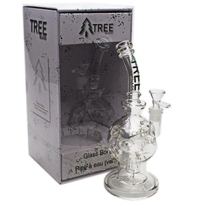 "Tree Glass 10"" Perked Fabrige Egg Bubbler"