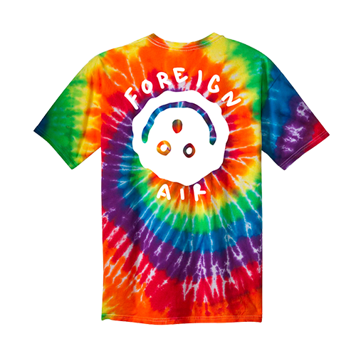Foreign Air Tie Dye Tee