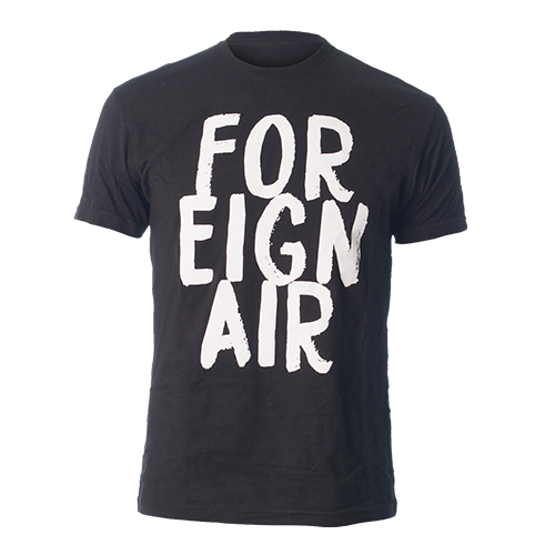 Foreign Air Black/White Tee