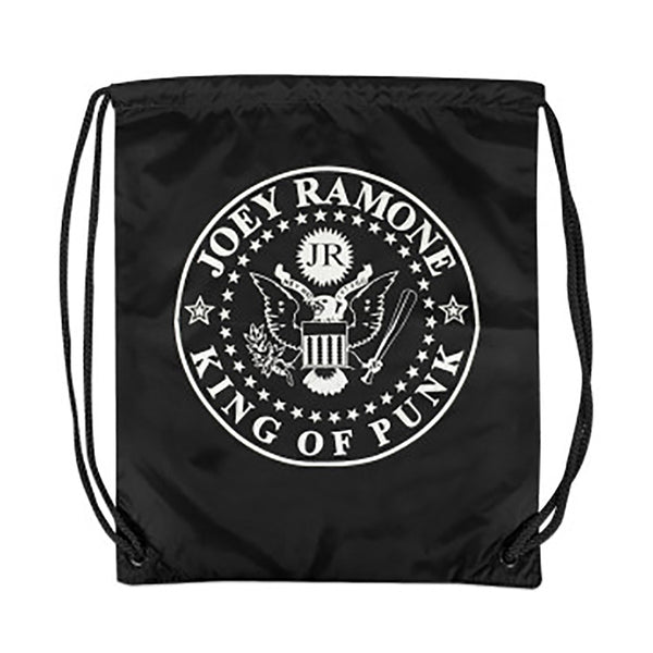 Joey Ramone King of Punk Drawstring Bag