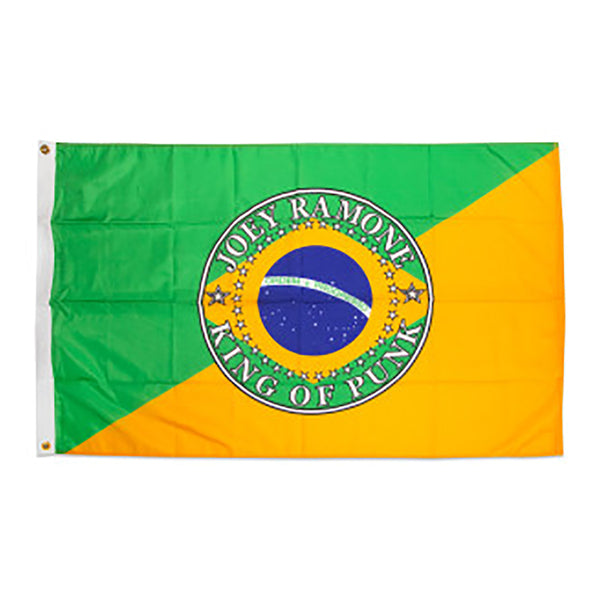Joey Ramone Rio King of Punk Brazil Flag