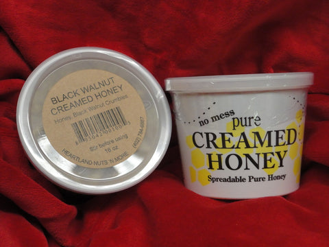 Black Walnut Creamed Honey