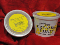 Cinnamon Pecan Creamed Honey